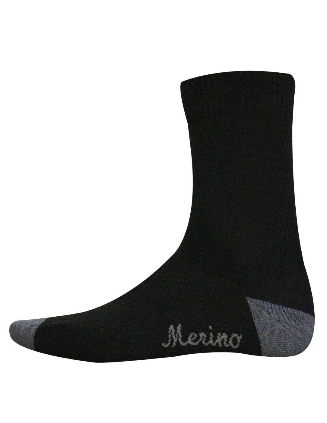 Bora Merino Winter Socks - Black