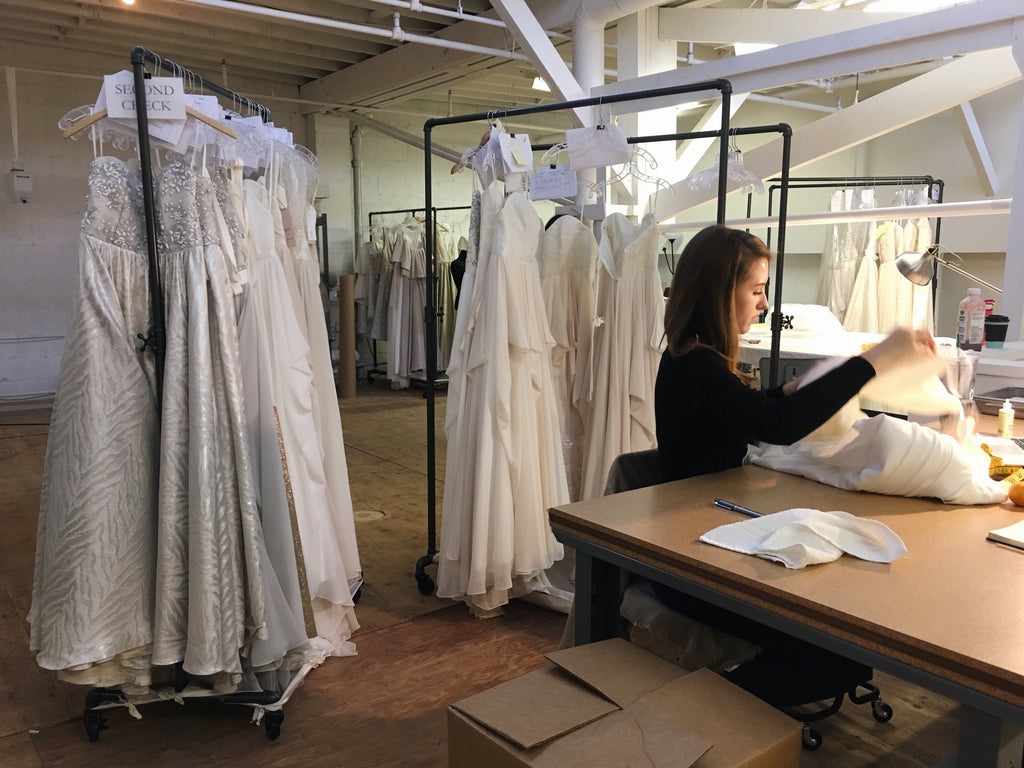 Made in Vancouver wedding dresses
