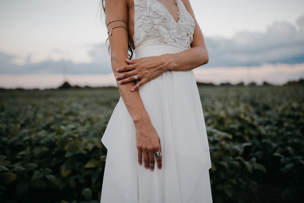 Made in Canada wedding dress