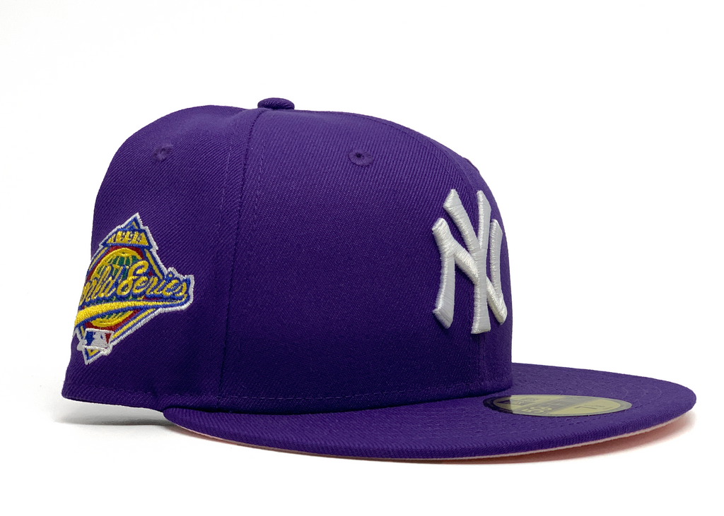"Limited Edition New York Yankees ""1996 World Series"" Purple Fitted"