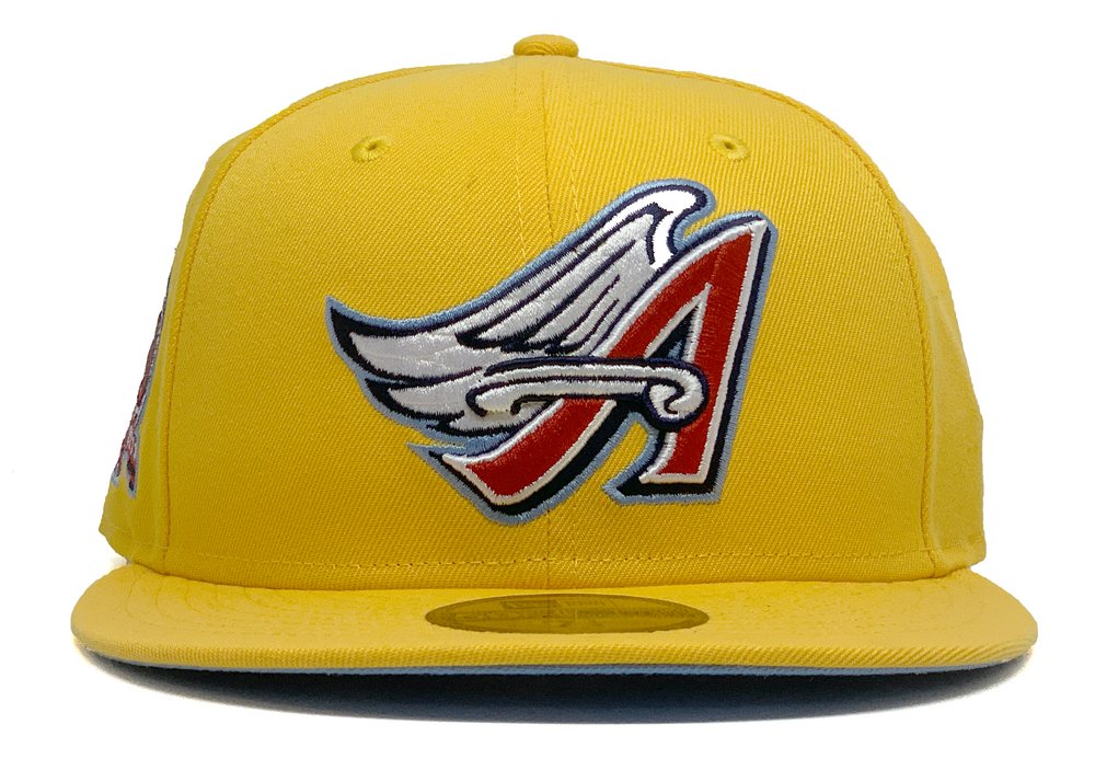"Limited Edition Anaheim Angels ""50th Anniversary"" Fitted"