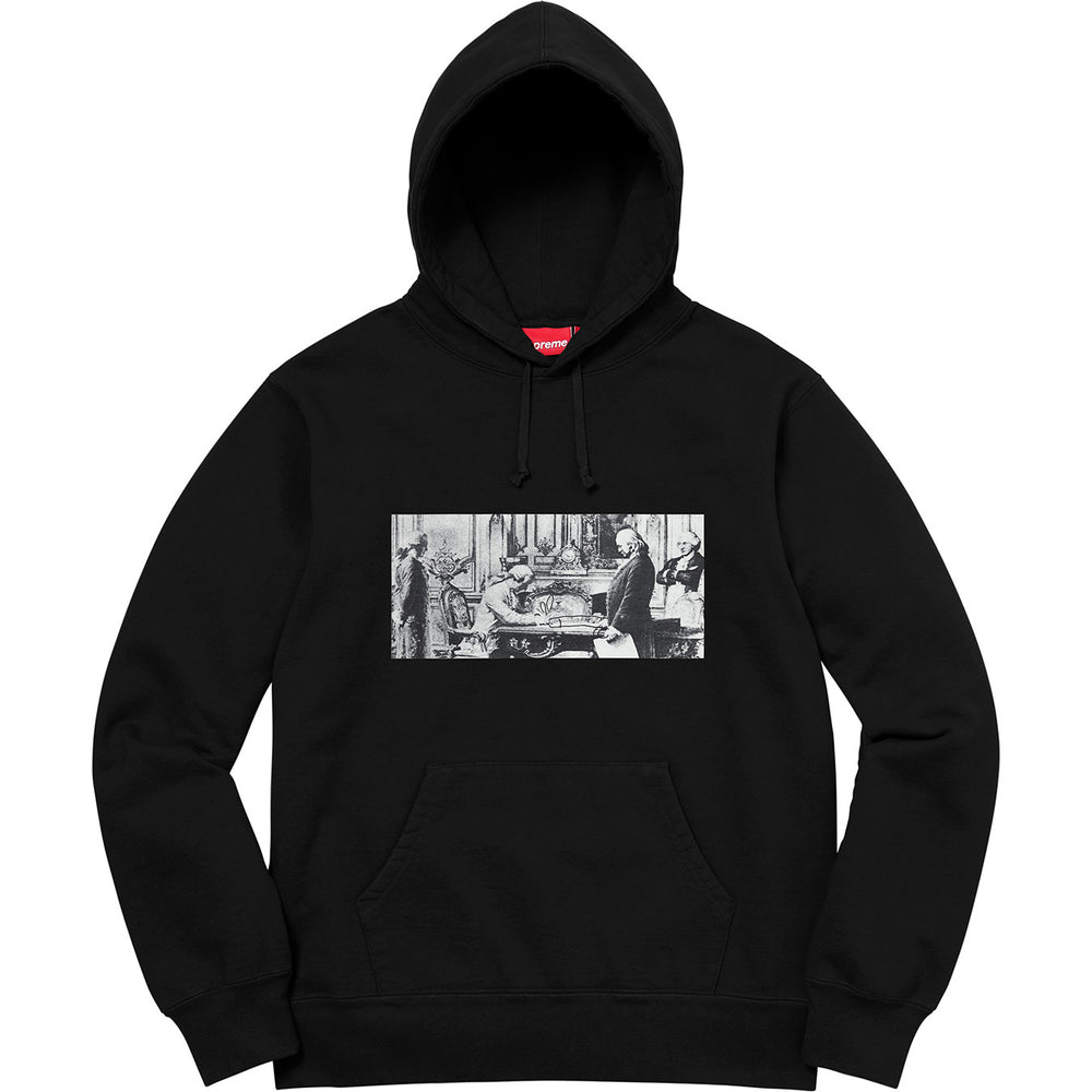 "Supreme x Mike Kelley ""Reconstructed History"" Hoodie (Black)"