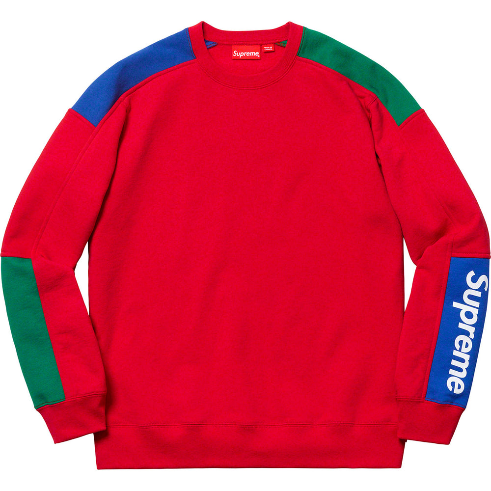 "Supreme ""Formula"" Sweatshirt (Red)"