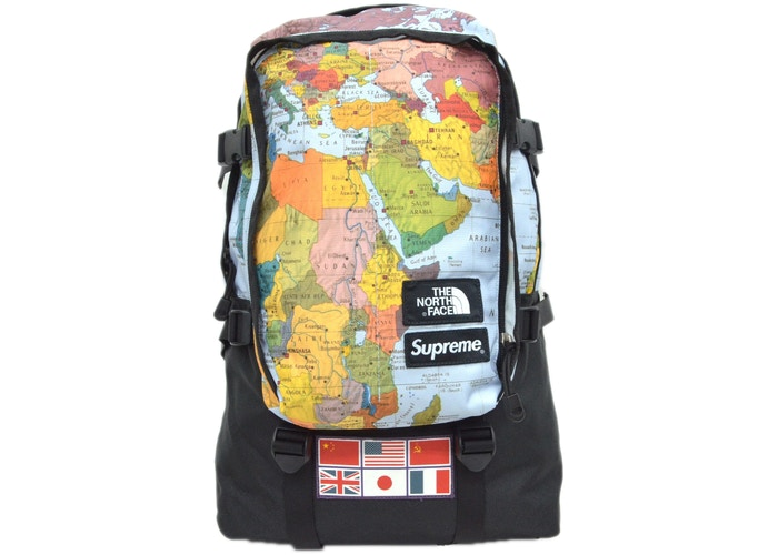 "Pre-Owned Supreme ""Expedition Map"" Day Pack"