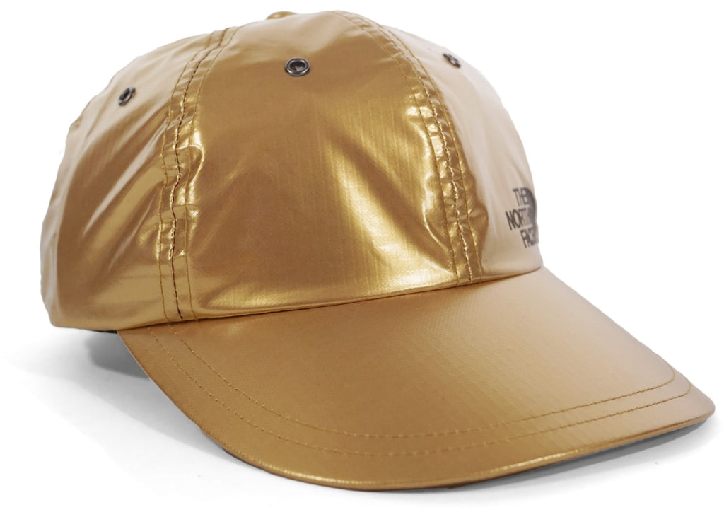 "Supreme 6 Panal Hat ""The North Face (Metallic Gold)"""