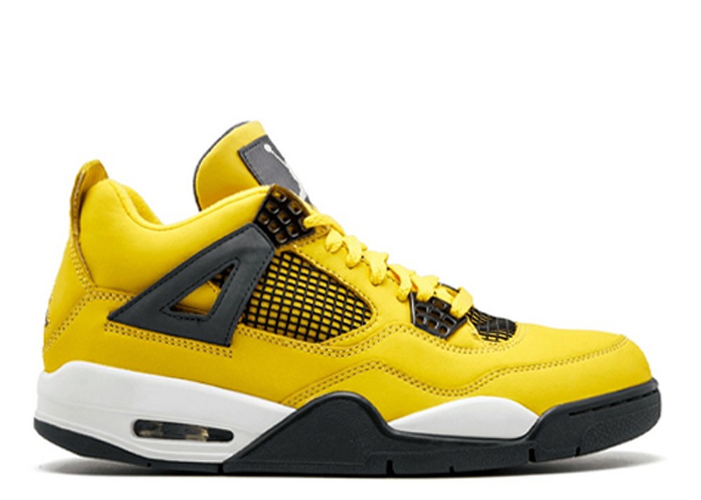 "2021 PRE-ORDER Air Jordan 4 Retro ""Lighting"""
