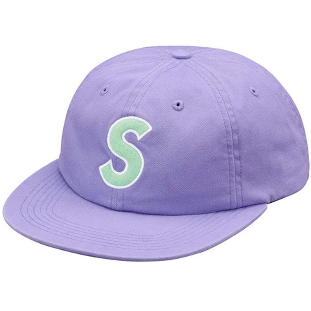 "Supreme ""Felt S Logo"" 6 Panel Hat"