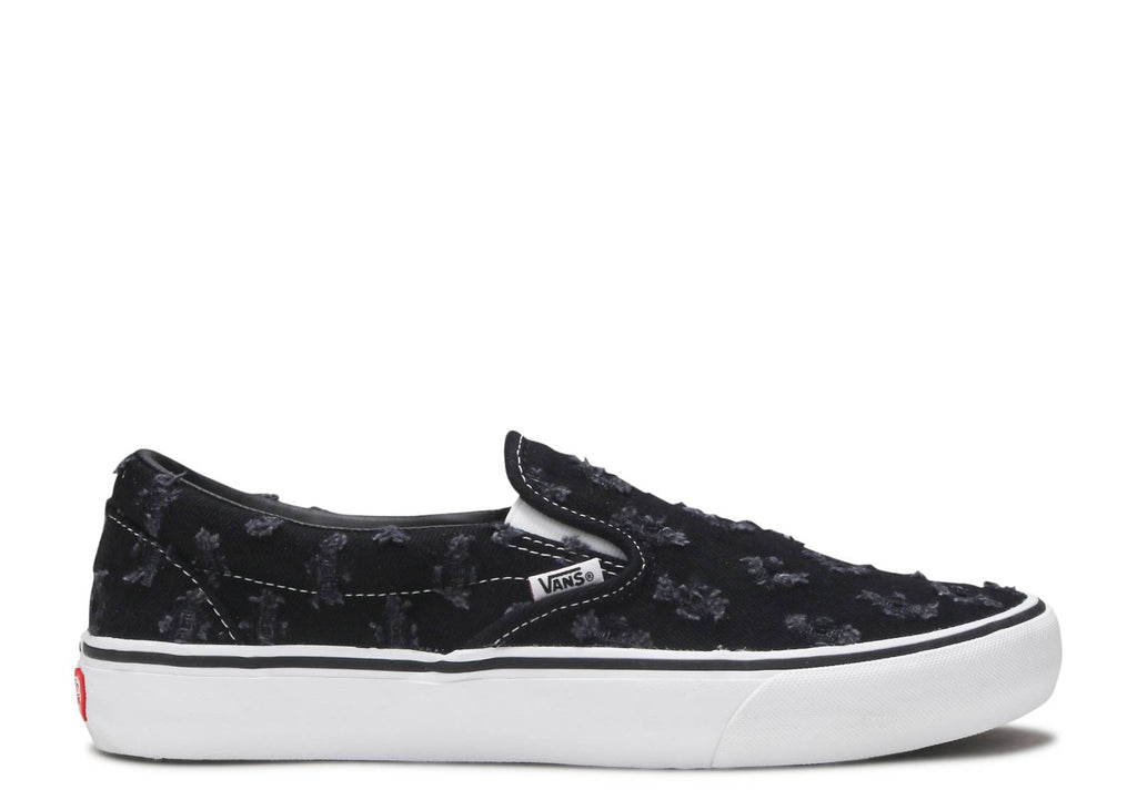 "Vans Slip-On x Supreme ""Denim Black"" (ONLINE ONLY)"