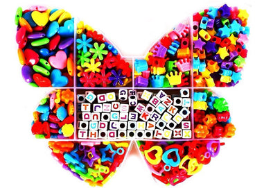 Colored Butterfly Kandi Bead Kit - Kandies World