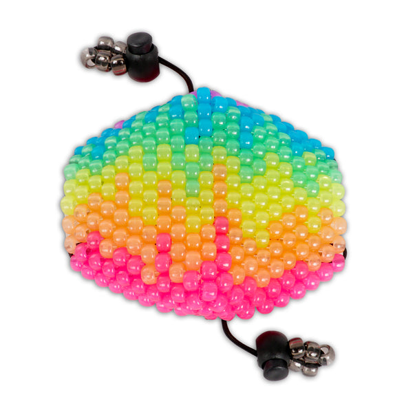 Glow in the Dark Paint Drip Surgical Kandi Mask - Kandies World