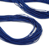 Blue Elastic Cord, Stretchy Round String for DIY Masks, Crafts, Beading, Bracelet - 1mm Diameter, 20 to 200 Yards - Kandies World