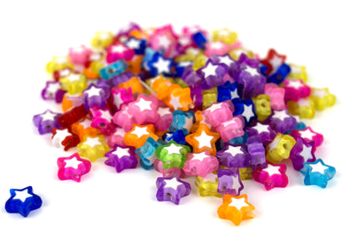 Electric Star Beads (125/Pack) - Kandies World
