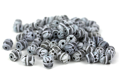 Skull Squad Beads (80/Pack) - Kandies World