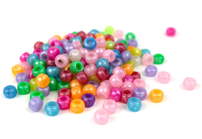 Light Pearl Multicolor Kandi Pony Beads - Kandies World