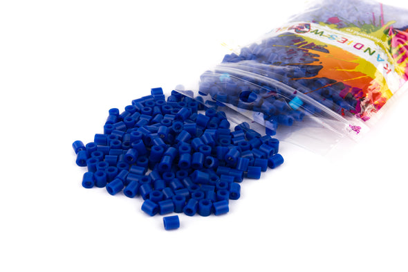 Navy Fuse Bead (1000/Pack) - Kandies World
