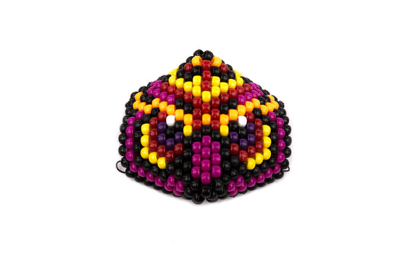 Mystical Owl Surgical Kandi Kid Mask - Red - Kandies World