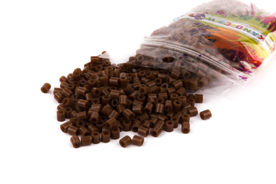 Brown Fuse Bead (1000/Pack) - Kandies World