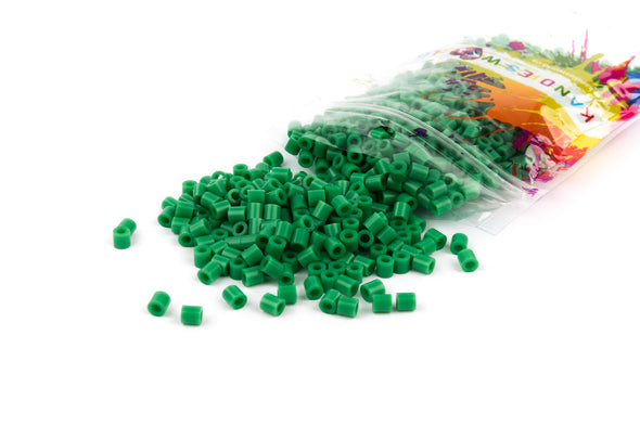 Cabana Green Fuse Bead (1000/Pack) - Kandies World