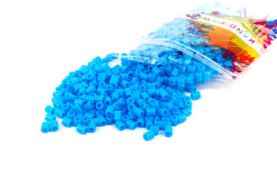 Laguna Blue Fuse Bead (1000/Pack) - Kandies World