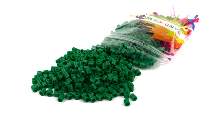 Nocturnal Forest Green Fuse Bead (1000/Pack) - Kandies World