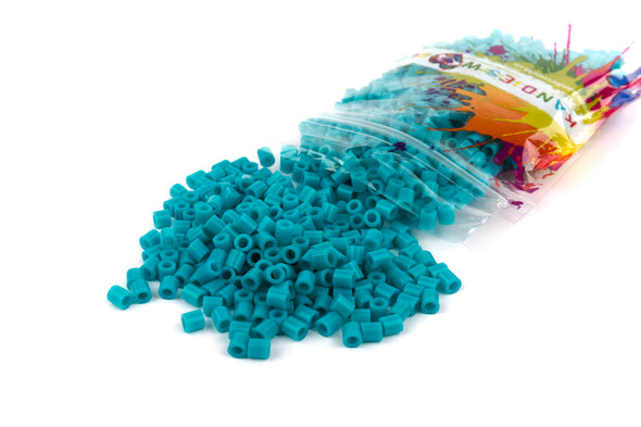 Turquoise Fuse Bead (1000/Pack) - Kandies World