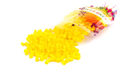 Light Mustard Fuse Bead (1000/Pack) - Kandies World