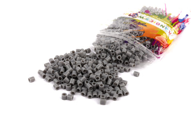 Light Grey Kandi Perler Beads - Kandies World