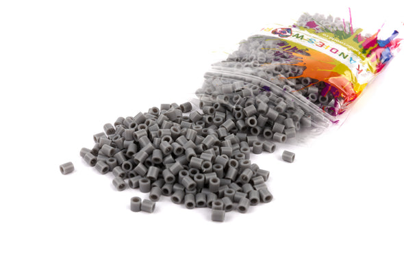 Light Grey Fuse Bead (1000/Pack) - Kandies World