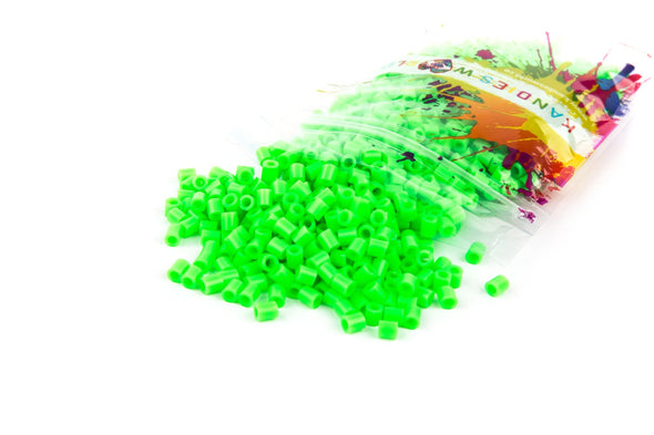 Neon Green Fuse Bead (1000/Pack) - Kandies World