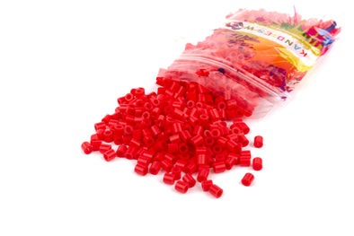 Shy Cherry Red Fuse Bead (1000/Pack) - Kandies World