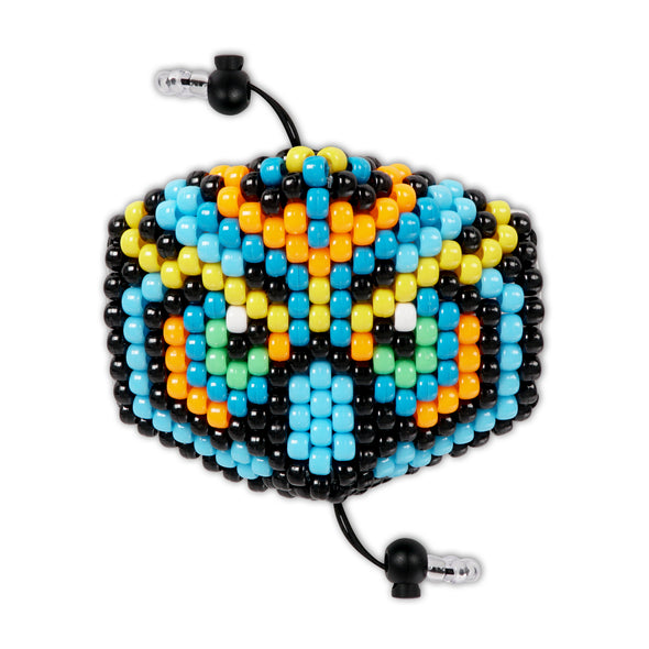 Mystical Owl Surgical Kandi Mask - Blue - Kandies World