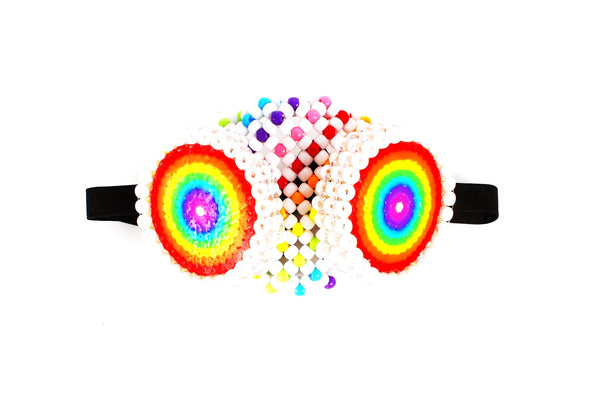 Rainbow Kandi Kid Gas Mask - Kandies World