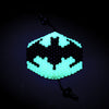 Glow In The Dark Batman Surgical Kandi Mask - Kandies World