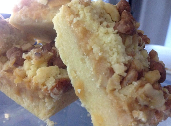 Caramel and Walnut Slice