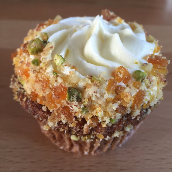 Carrot & Cream Cheese Cupcake