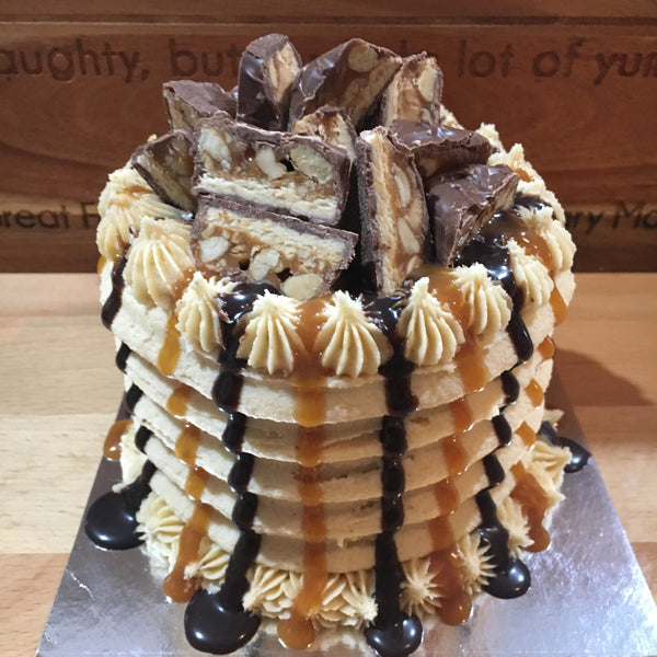 The Snickers Cake