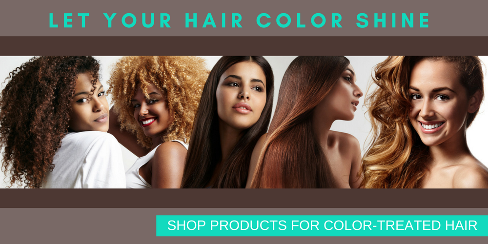 Hair Products for Color-Treated Hair