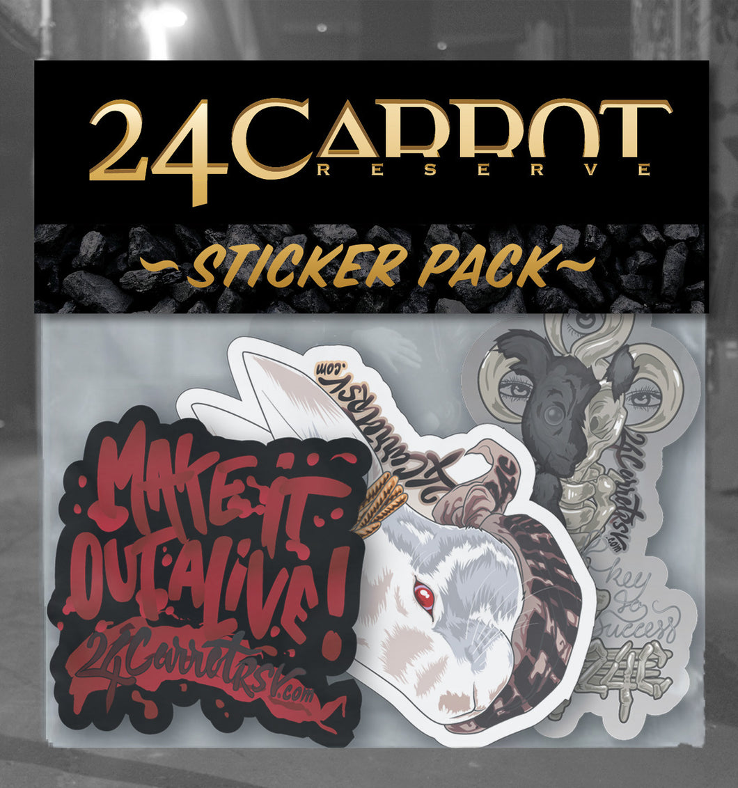 24C Pandora's Box Sticker Pack