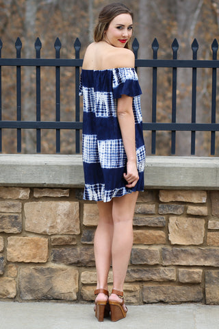 Tie Dye Dress-Kennadi Lane Boutique
