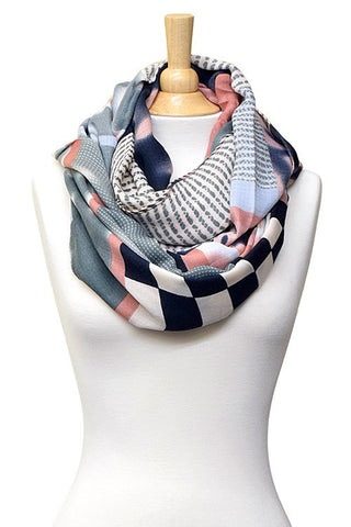 trendy fall infinity scarf