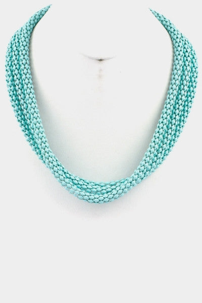 Brianna Necklace-Turquoise