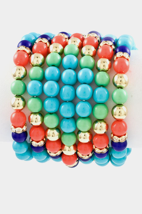 COLORFUL BRACELETS FOR SPRING