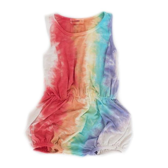 Summer Romper in Rainbow