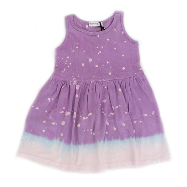 Jess Dress in Lilac Splatter