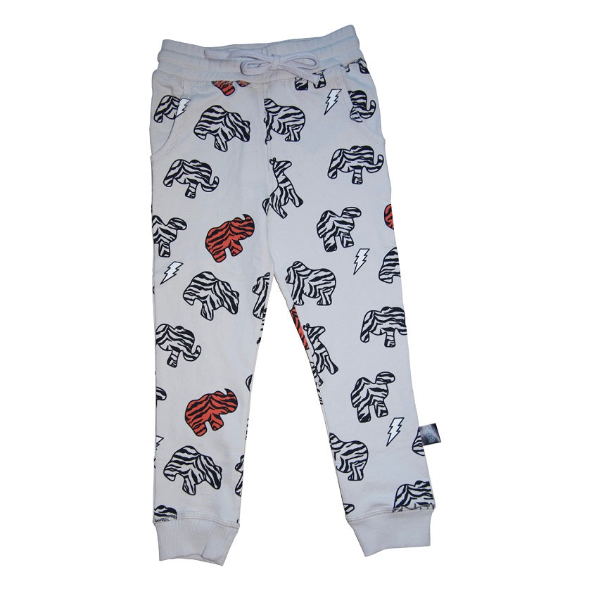 Animal Cookie Joggers in Grey