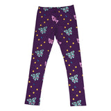 Papillion Leggings in Grape