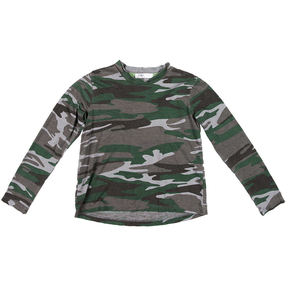 Berkeley Camo Long Sleeve Tee