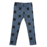 Blue Blocks Leggings