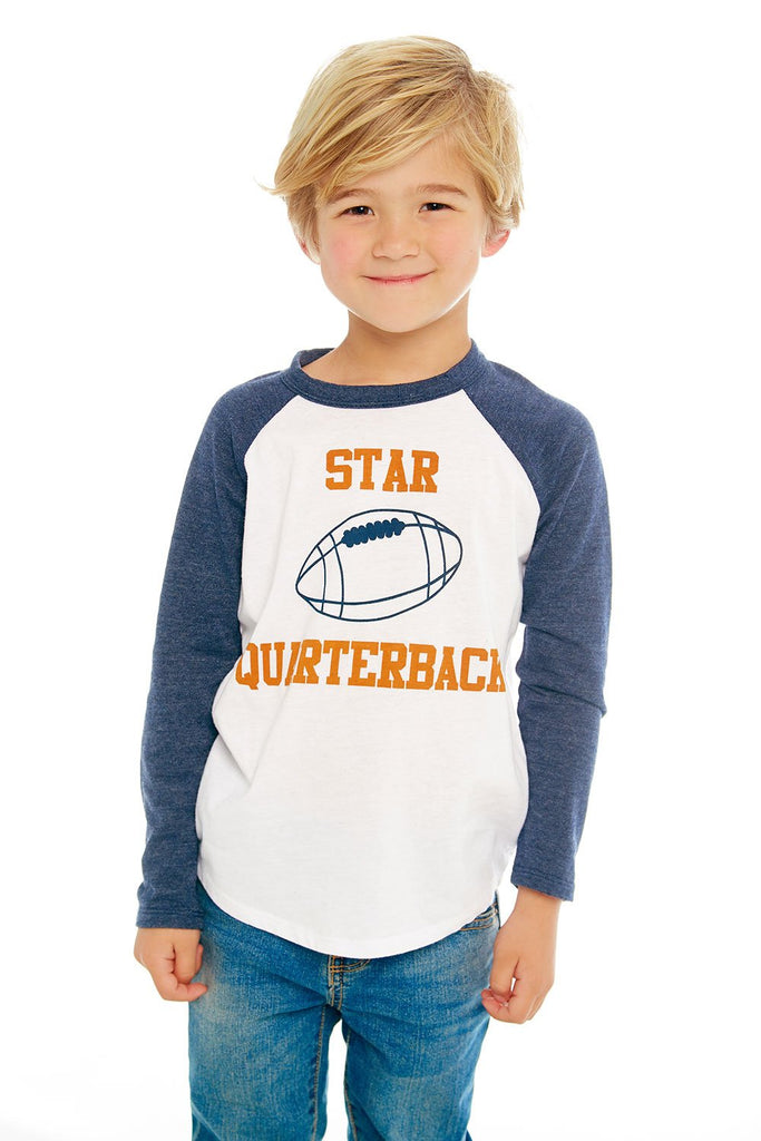 Quarterback Long Sleeve Tee