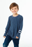 Boys Love Knit Crew Neck Pullover Sweater